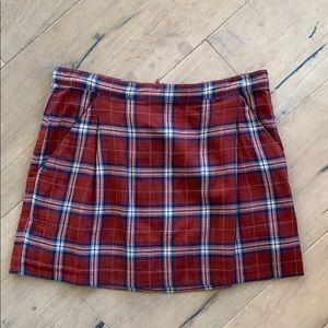 Adorable Vintage Juicy Couture Plaid Mini Skirt